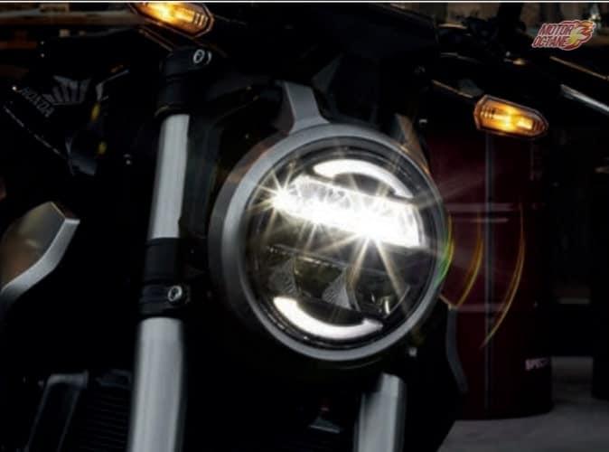 Honda CB300R Neo Sports headlight