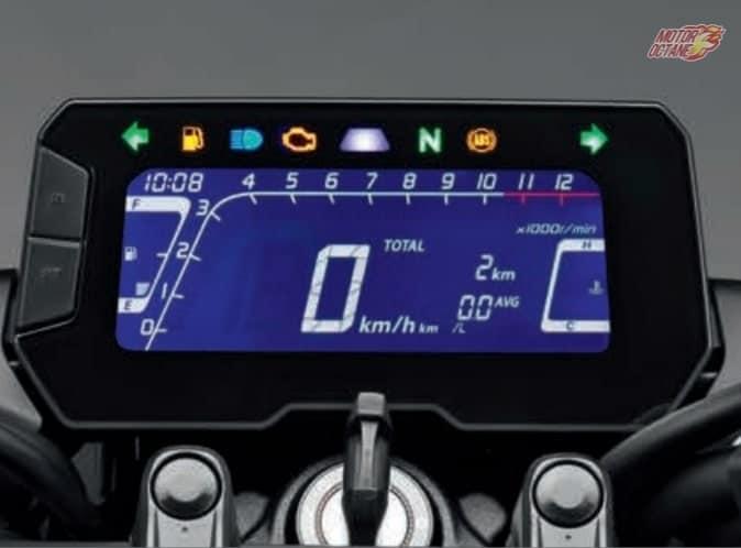 Honda-CB300R-Neo-Sports-instrument-cluster