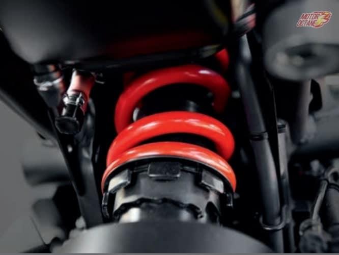 Honda CB300R Neo Sports monoshock