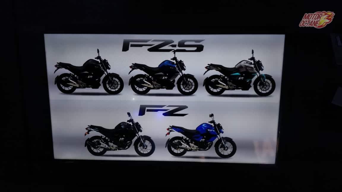 Yamaha FZ-S V3 ABS Colors
