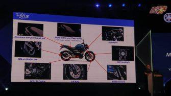 Yamaha FZ-S V3 ABS Features