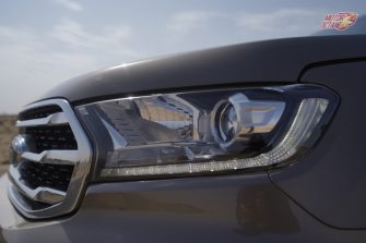2019 Ford Endeavour headlights