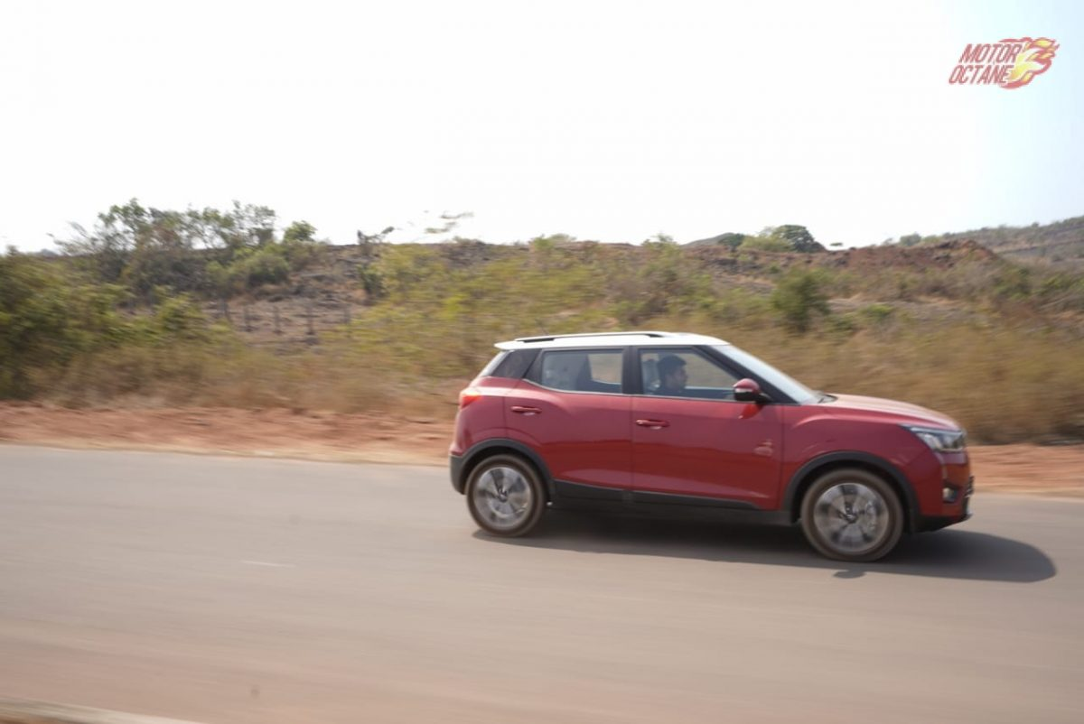 Mahindra XUV300 driving side