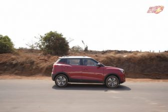 Mahindra XUV300 driving side 2