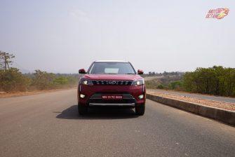 Mahindra XUV300 front driving
