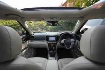 Mahindra XUV300 front seat