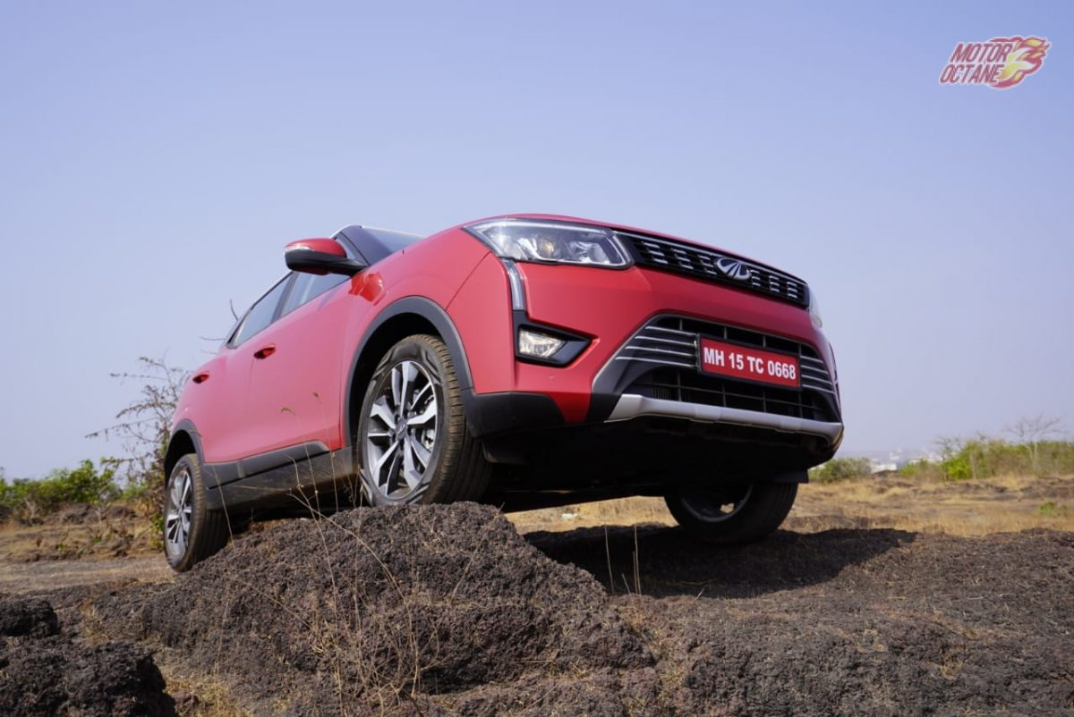Mahindra XUV300 ground clearance