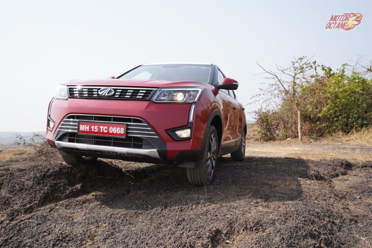 Mahindra XUV300 off-road