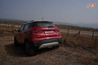 Mahindra XUV300 rear