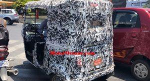 Bajaj Electric Rickshaw rear