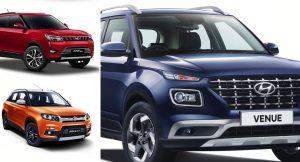 Hyundai Venue vs Competition