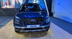 Hyundai Venue 2019 front