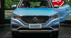 MG ZS EV India front