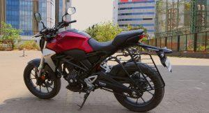 Honda CB300R side