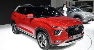 Hyundai creta 2020 side front