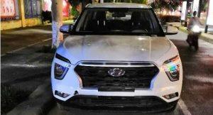 Hyundai creta 2020 white front