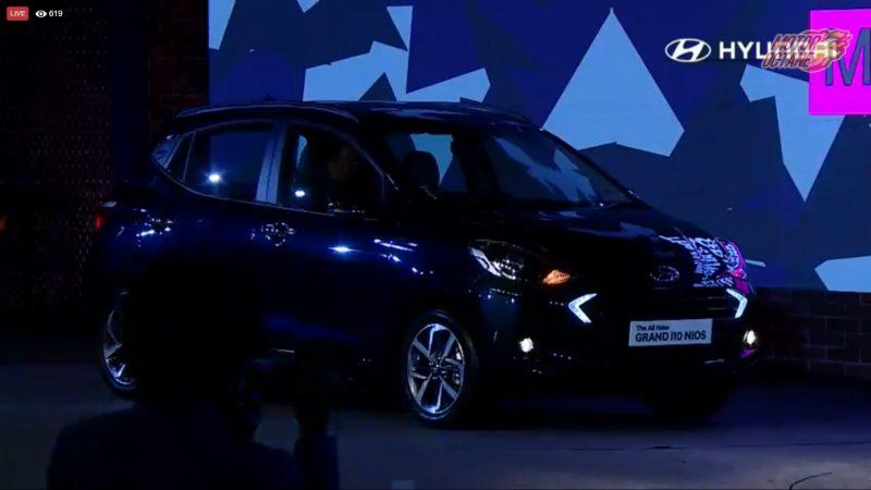Hyundai Grand i10 Nios front