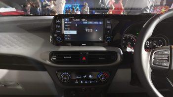 Hyundai Grand i10 Nios touchcreen
