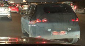 Hyundai i20 spyshot rear
