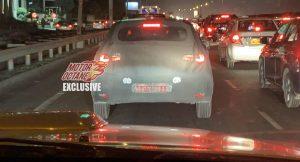 Hyundai i20 spyshot rear 3