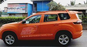 Tata Gravitas Spyshots Orange colours (3)