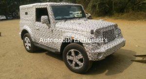 2020 Mahindra Thar alloy wheels