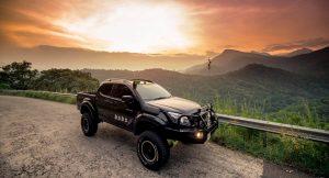 Isuzu Dmax Vcross Modified high lift