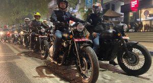 Jawa Motorcycles test ride
