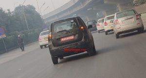 Maruti XL5 taillights