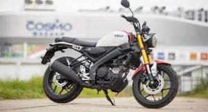 Yamaha XSR 155 side