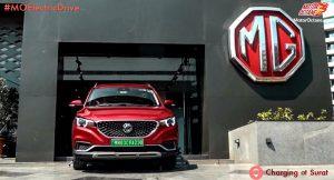 MG ZS EV in Surat