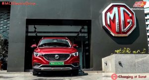 MG ZS EV in Surat