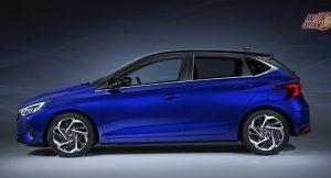 2021 Hyundai i20 side
