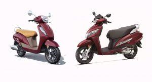 Honda Activa 125 Vs Suzuki Access 125