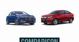 Maruti Dzire vs Honda Amaze