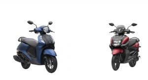 Yamaha Fascino 125 Vs Ray ZR 125