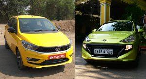 Tata Tiago vs Hyundai Santro