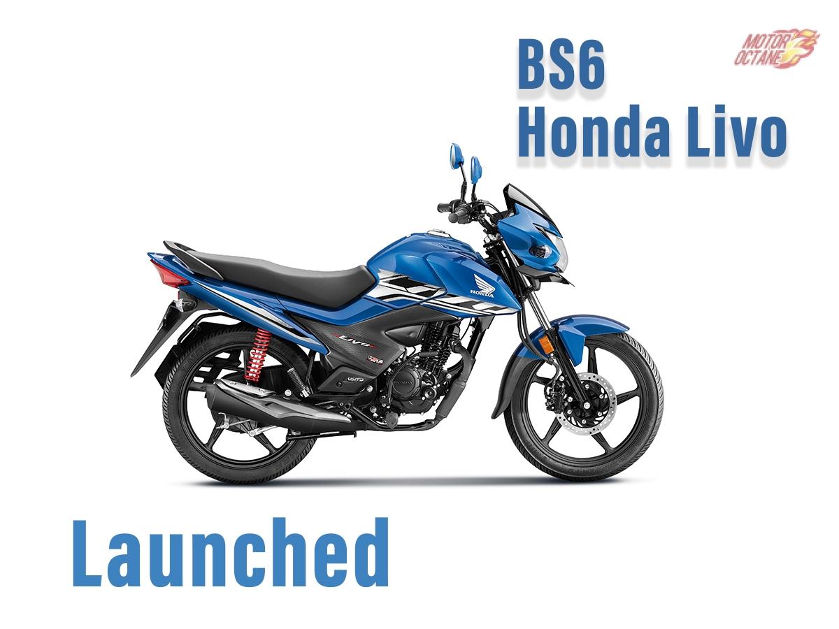Bs6 Honda Livo