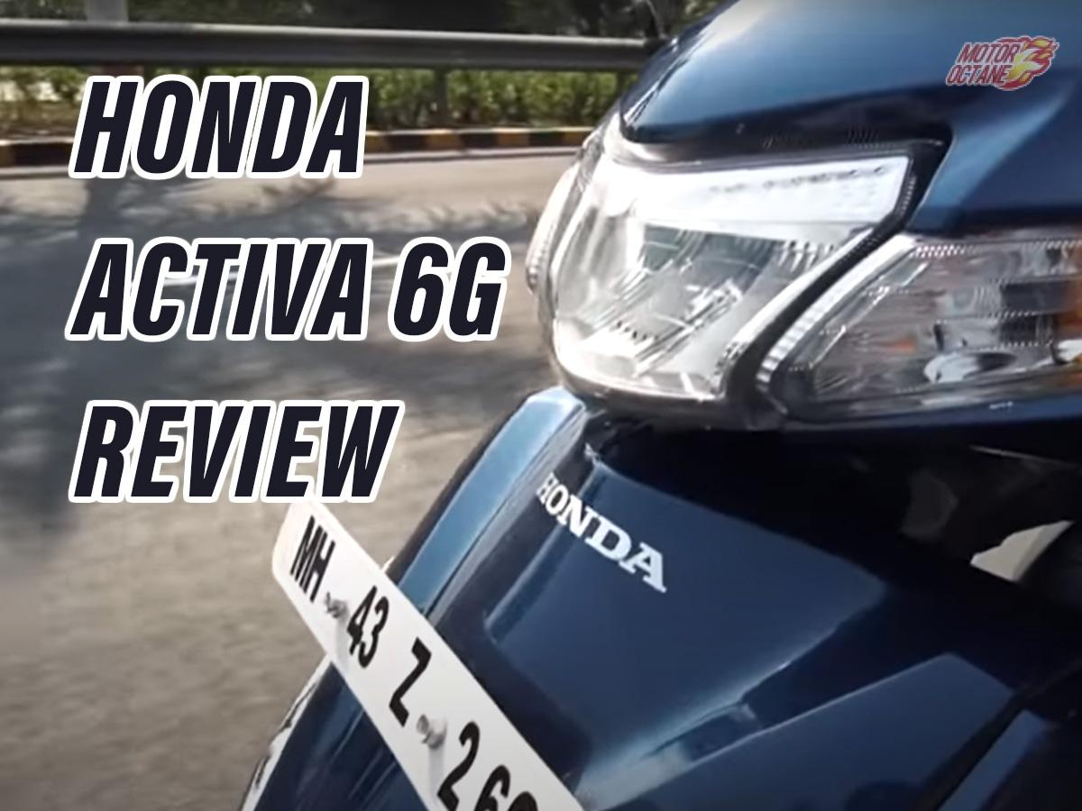 Honda Activa 6G Review