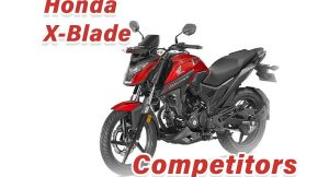 Honda X-Blade Competitiors