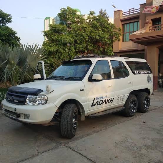 Tata Safari 6x6