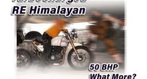 Turbocharged RE Himalayan