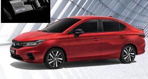 Honda City hybrid front