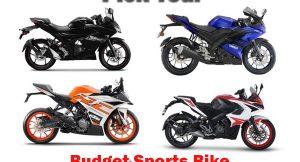Budget Sports bike