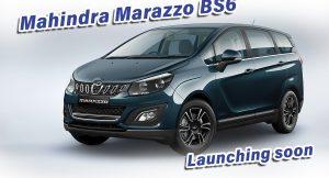 Mahindra Marazzo BS6 launch