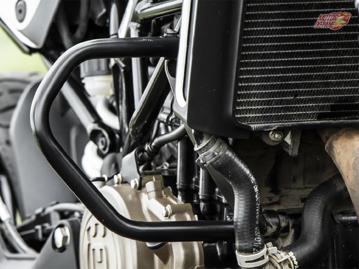 Vitpilen 250 Engine Bay