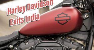 Harley India bye