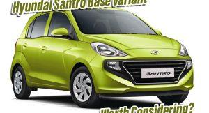 Hyundai Santro base variant