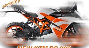 New KTM RC 200