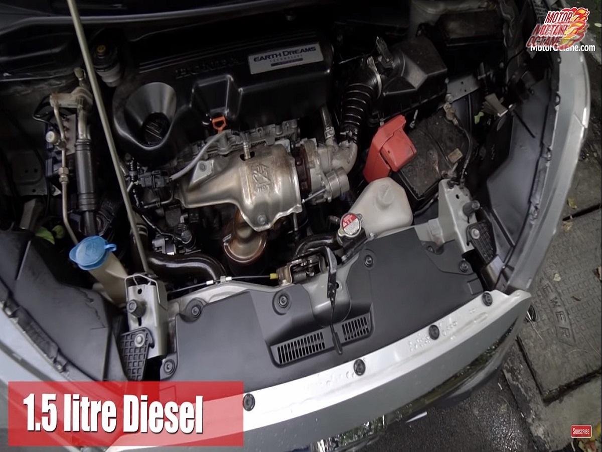 engine Honda WR-V Owner's Review